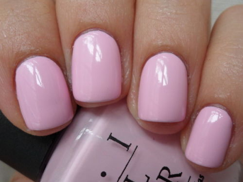 Opi Mod About You Opaque Pale Pink Creme Nail Lacquer Polish